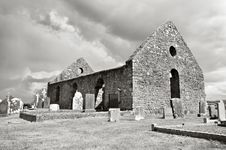 Free Ruins Of Old Church And Cemetery Stock Image - 5996021