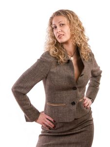 Free Suspicious Businesswoman Stock Images - 5996024