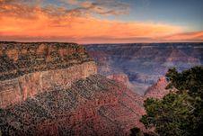 Free Sunset At Grand Canyon Royalty Free Stock Photos - 5996198