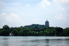 Free Leifeng Pagoda Royalty Free Stock Image - 5996476