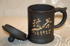 Free Traditional Chinese Tea-mug Stock Image - 5996501