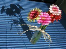 Free Vase Of Flowers Stock Image - 5996781