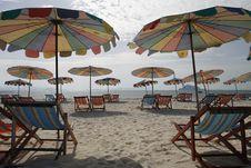 Free Beach Umbrella Royalty Free Stock Image - 5997266