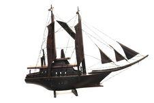 Sailboat Miniature Royalty Free Stock Photos