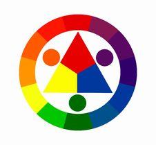 Free Twelve Colors Circle Stock Photography - 5997372