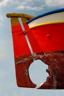 Free Boat Steering Royalty Free Stock Photos - 5997388