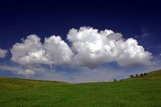 Ellipse Landscape Stock Images