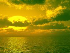 Free Beautiful Sunset Royalty Free Stock Images - 5997919