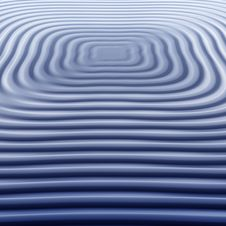 Free Blue Square Waves 1 Stock Image - 5998581