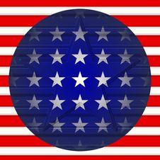 Free American Star Royalty Free Stock Image - 5998646