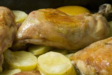 Free Chicken Leg Stock Photo - 5998740