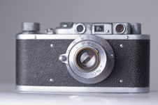 Free Old Camera With Scratches And Dust, Soft Focus Stock Photo - 5998860