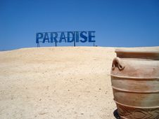 Free Amphora On Paradise Island Royalty Free Stock Photography - 5998927