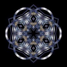 Free Pretty Deco Star Flourish Stock Images - 5999204