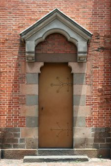 Free Ancient Door Royalty Free Stock Image - 5999296