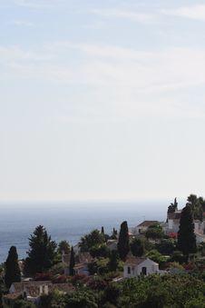 Free Seaview From Urb., San Nicolas ( Granada Spain ) Royalty Free Stock Photography - 5999567