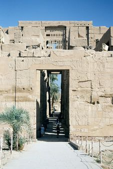 Free Karnak Temple. Royalty Free Stock Photo - 60125