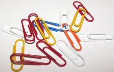 Free Paper Clips Stock Images - 60964