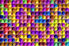 Bubble Wrap Pattern Stock Images