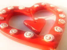 Free Valentine Heart, Background Royalty Free Stock Image - 63126