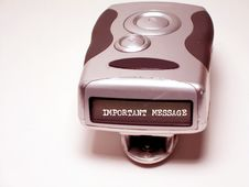 Pager Stock Image
