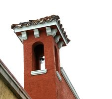 Free Tower With Tile Roof Stock Photos - 64483
