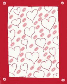 Free Folk Art Valentine Stock Photography - 64552