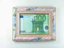 Free Framed Money Royalty Free Stock Photo - 66755