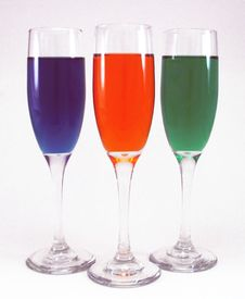 Free Colors In Glass Stock Photography - 67142