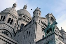 Free Beautiful Sacre Coeur In Paris Stock Photos - 68503