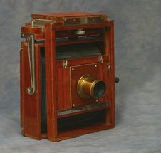 Free 5X7 Wooden View Camera Stock Images - 69284