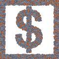 Free Symbol Many Coins Stock Photography - 604162