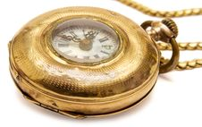 Free Micro Pocket Watch (Side View) Stock Images - 600374