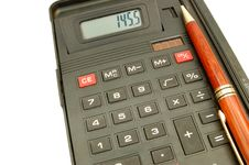 Free Calculator 6 Stock Images - 601254
