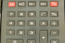 Free Calculator 4 Royalty Free Stock Photo - 601255