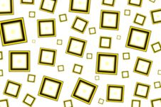 Yellow Squared Royalty Free Stock Photo
