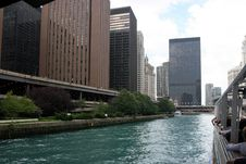 Free Chicago – View From Riverboat Royalty Free Stock Photography - 602537
