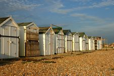 Free Beach Huts Royalty Free Stock Images - 604399