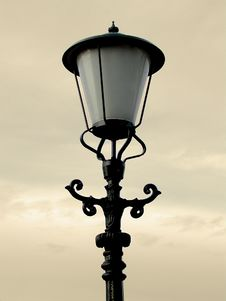 Free Old Lonely Lantern Royalty Free Stock Photo - 604645