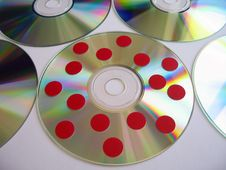 Free Infected Disc 4 Royalty Free Stock Image - 604906