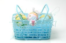 Free Easter Basket Royalty Free Stock Image - 605916