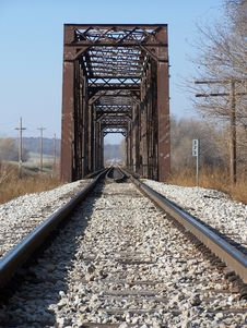 Free Railroad Trestle Royalty Free Stock Photography - 606187