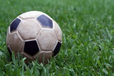 Free Toy Foot Ball Stock Photography - 606682