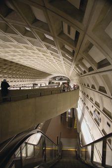 Free Washington D.C. Metro Royalty Free Stock Image - 606796