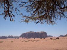 Free Wadi Rum Desert Iii Royalty Free Stock Image - 607076