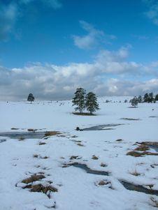 Free Winter Postcard Stock Photography - 607762