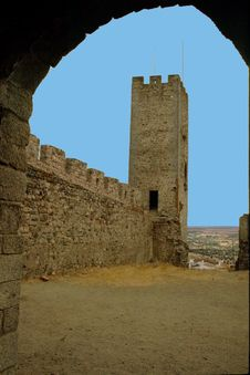 Free Arraiolos Castle Royalty Free Stock Image - 608016