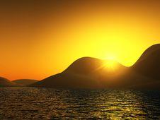 Free Sunny Landscape 2 Royalty Free Stock Image - 608046