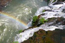 Free Iguacu Waterfalls Royalty Free Stock Images - 608229