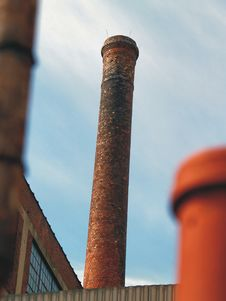 Free Smoke Stack Royalty Free Stock Image - 608586